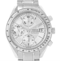 Omega Speedmaster Automatic Date Silver Dial Watch 3513.30.00...