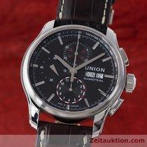 Union Glashütte Viro Chronograph Stahl Automatik D001.414.16.0...