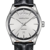 Hamilton Jazzmaster Day Date Auto 42mm Silver Dial
