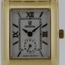 Festina Dress Watch 18k Gelbgold -ungetragen-