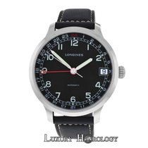 Longines New Men  Heritage Military Steel Automatic Watch $2,100