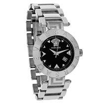 Versace Reve Ladies Black Dial Swiss Quartz Watch XLQ99D009 S099