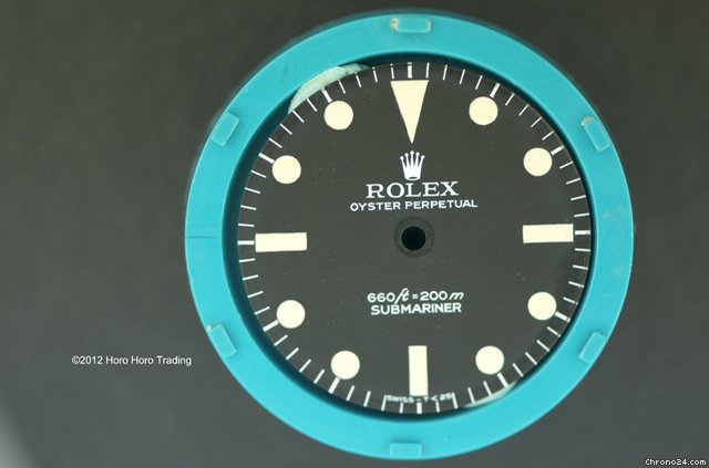 Rolex Vintage Submariner Dial
