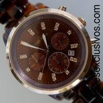 Michael Kors Tortoise Chronograph