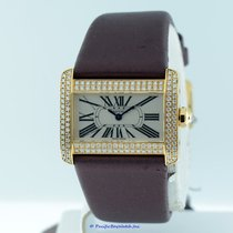 Cartier Divan Diamond Ladies WA301071 Pre-owned