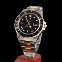 Rolex gmt-master II steel and gold black