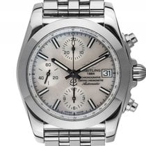 Breitling Chronomat 38 Sleek T Stahl Perlmutt Automatik...