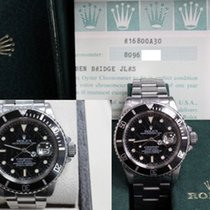 Rolex 16800 Submariner Rare Spider Web Dial Unpolished Box...