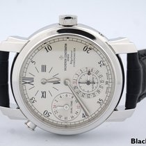 Vacheron Constantin Malte Dual Time 18k White Gold Regulator...