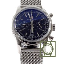 Breitling Transocean Chronograph 38mm Steel NEW