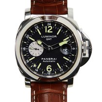 Panerai New  Luminor Stainless Steel Black Automatic PAM00088