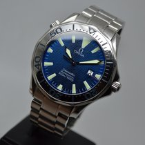 Omega Seamaster 300M ELECTRIC BLUE RARE 41mm with Warranty