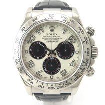 Rolex Daytona 116519 White gold Racing Dial with box