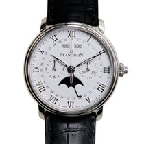 Blancpain Villeret Stainless Steel White Automatic 6685-1127-55B