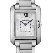 Cartier W4TA0004 Tank Anglaise Ladies Quartz in Steel - On...