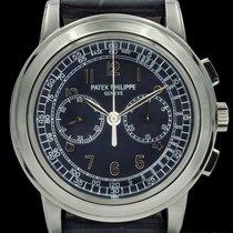 Patek Philippe Ref# 5070P Blue Dial Chronograph