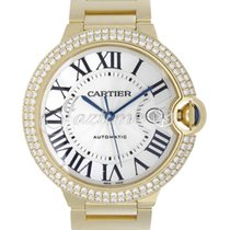 Cartier WE9007Z3 BALLON BLEU DE 42mm YELLOW GOLD 2017