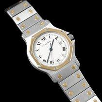Cartier Santos Octagon Large Ladies/Small Mens Quartz Watch