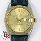 Rolex Date 15053 Steel and Gold