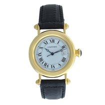 Cartier Mint Authentic Lady Unisex Diablo 1420 Quartz 32MM...