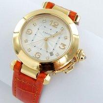 Cartier Pasha Lady Automatik 18kt Gold Ref. 2519 Brillanten