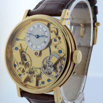 Breguet Tradition 18k Gold Skeleton Watch Box/Papers 7037