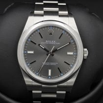 Rolex Oyster Perpetual - 39mm - 114300 - RHODIUM Dial - NEW IN...