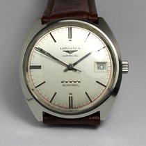 Longines Admiral Five Stars, vintage, steel, 1969, 60s