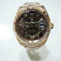 勞力士 (Rolex) 勞力士(Rolex) Sky-Dweller 18K Everose Gold chocolate...
