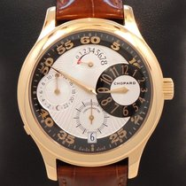Chopard Luc Quadratto Regulateur Limited Edition 18k Yellow...