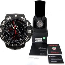 TAG Heuer Formula 1 Grand Date Black Stainless Steel Wrist...