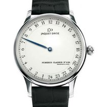 Jaquet-Droz J025034202 Grande Heure Automatic in White Gold -...