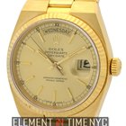 Rolex Day-Date OysterQuartz 18k Yellow Gold 36mm Circa 1980...