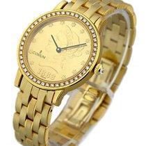 Corum $10 Gold Coin Watch circa 1888 Diamond Bezel