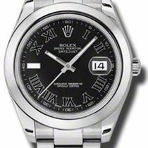 Rolex Datejust II 41mm - Stainless Steel - 116300 Black Dial