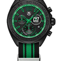 TAG Heuer Formula 1 Cristiano Ronaldo Chrono Quarzo Black and...