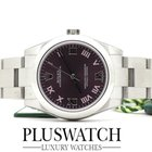Rolex Oyster Perpetual 31mm red grape 177200 NEW LD