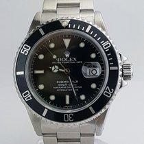 Rolex Submariner Stainless Steel Black Dial REF:16610