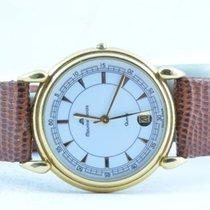 Maurice Lacroix Damen Uhr Vergoldet 34mm Mit Leder Band 2