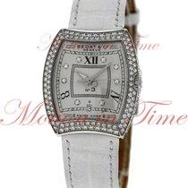 Bedat & Co No. 3 Automatic, Silver Diamond Dial, Diamond...