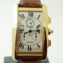 Cartier Tank Americaine Chronoflex 18K