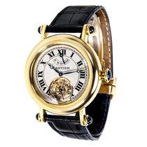 Cartier Diabolo Tourbillon T1025 Unisex Watch in 18k Gold