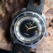 Hamilton ref. 64065-3 VINTAGE 42MM DIVER PAN-EUROP CASE 200M...