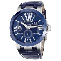 Ulysse Nardin Executive Dual Time Automatic Mens Watch 243-00-43