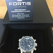 Fortis F-43 Daybreaker Stealth Chronograph Alarm GMT, 703.10.1...