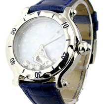 Chopard 28/8430 Happy Sport 38mm in Steel - on Blue Strap with...