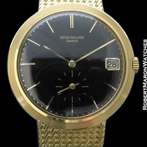 Patek Philippe Ref. 3565-1 18k Calatrava W/ Incredible Black...