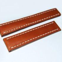 Breitling Kalbslederband für Faltschließe Braun 22-20 mm