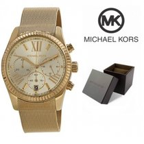 Michael Kors Lexington Chronograph Champagne