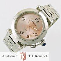 Cartier Pasha Date Rosé Dial mint condition